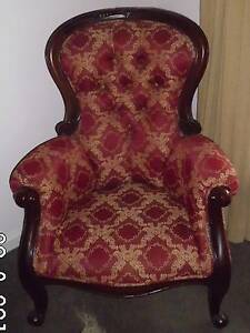 Antique gents chair Bacchus Marsh Moorabool Area Preview