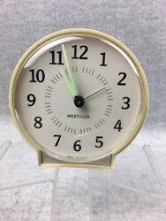 Vintage Westclox  Wind-up Alarm Clock Made in the USA