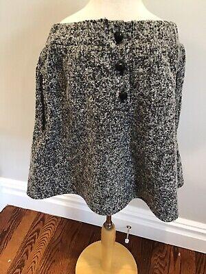 Les Coyotes De Paris Tweed Skirt 16 Nwt