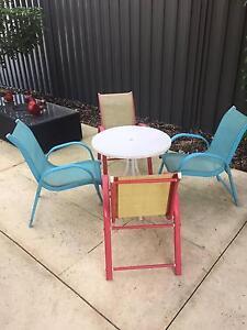 Delightful Outdoor Children's Dining Setting Bargain Ellenbrook Swan Area Preview