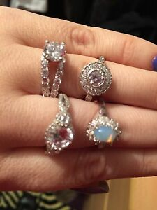 rings sterling .925 NEW!!