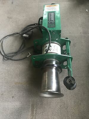 Greenlee Ut10-2s Puller Motor Amp Meter And Foot Switch. Ut10