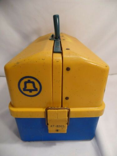 Vintage BELL System Telephone Repairman Service Worker Tool Box AT-8965