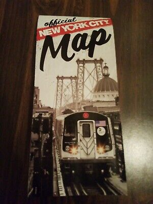 Official New York City NYC Visitor Tourist Map Guide July 2019 Edition Free Ship