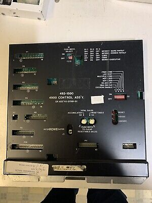 Rowe 4900 Snack Vending Machine Pcb Printed Circuit Control Assembly Board