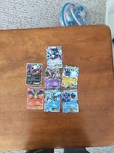 7 very rare ex Pokemon cards