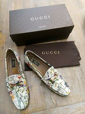 Gorgeous genuine rare Gucci Floral Loafers size 40 UK 7 amazing condition!🌼⚘☀️