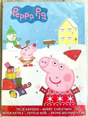 Peppa PIG Chocolate ADVENT Calendar Christmas countdown FREE SHIPPING