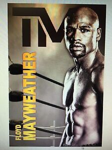 FLOYD MAYWEATHER TMT 24x36 POSTER GOAT CHAMPION BOXING FIGHTING LEGEND NEW ICON!