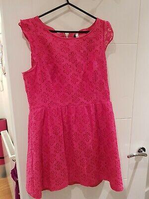 kensie pink Dress Large