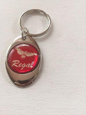 Buick Regal Keychain Chrome Metal Buick Key Chain