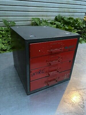 Park Vtg Steelmaster Metal Cabinet Industrial Machinist Tool Box Jewelry Dunlap