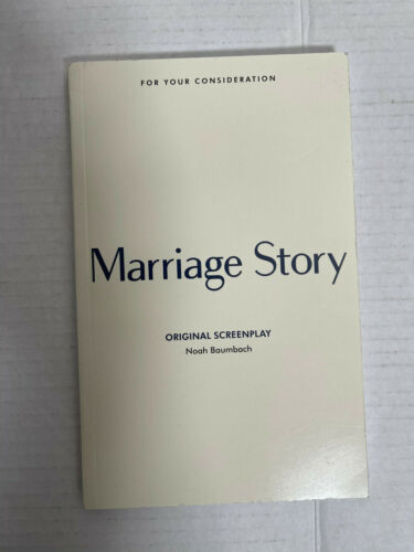 MARRIAGE STORY Screenplay