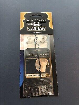 Midsummers Night Yankee Candle Car Jar Air Freshener