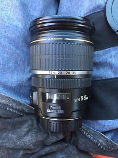 Canon EFS 17-55mm Ultrasonic Lens