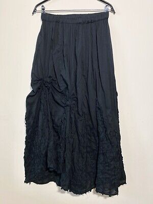IVAN GRUNDAHL Cotton Black Skirt , Size:40