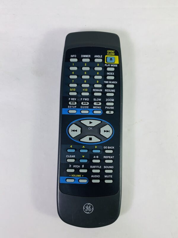 Genuine OEM GE General Electric CRK180DA1 DVD Player Remote Control Guaranteed