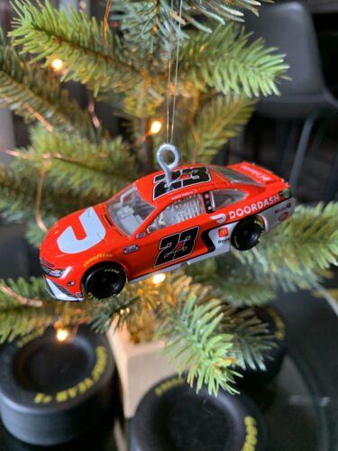 Bubba Wallace 23XI Racing DoorDash #23 2021 NASCAR Christmas Ornament 1:64 Scale