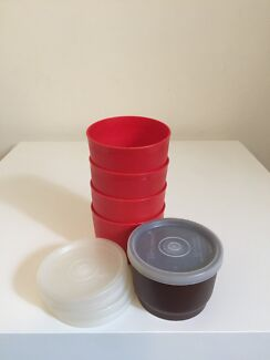 Tupperware mini rounds set of 5 Summer Hill Ashfield Area Preview