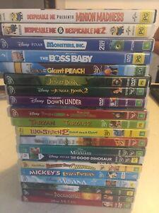 Kids dvds for sale $1 each
