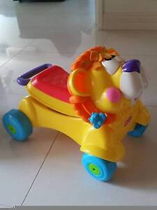 FISHER PRICE RIDE ON/WALKER LION Kingsley Joondalup Area Preview