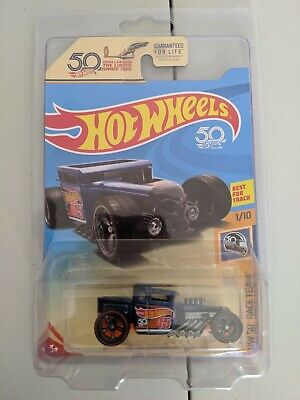 Hot Wheels Super Treasure Hunt BONE SHAKER Ultimate Chase  50th with Protector