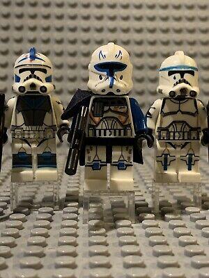lego star wars  Fives - Tup - captain rex 501st - Arc clone Trooper Minifigures