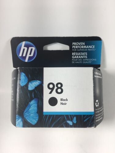 HP 98 Black Ink Cartridge (C9364WN) OEM Genuine EXP 01/2020