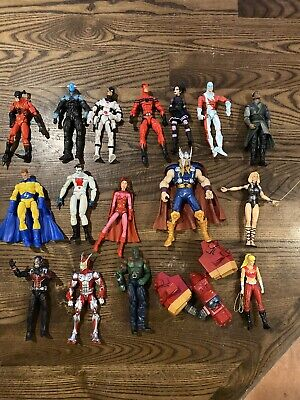 Marvel Legends Loose Lot of 17 Figures Drax,Mordo,Black widow, Thor, Electro,Etc