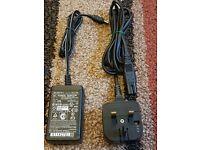 HZQDLN Portable AC Battery Charger for JVC GR-DV4000 GV-DV300 GY-DV301 GY-DV301E GY-HD100 MiniDV Camcorder