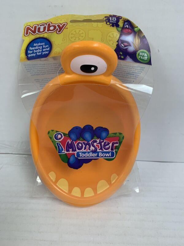 Mini 3-D Monster Toddler Bowl, New