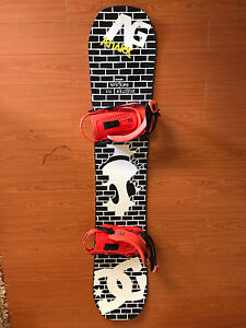 2013 Bataleon Disaster Snowboard with Union Force Bindings