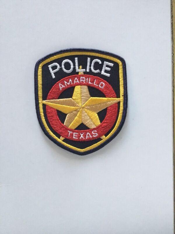 Amarillo Texas Police Patch