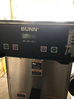Bunn Commercial Digital Dual Heat Coffee Maker With Faucet