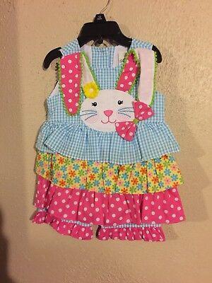 Rare Editions Toddler Girl's Rabbit Capri -