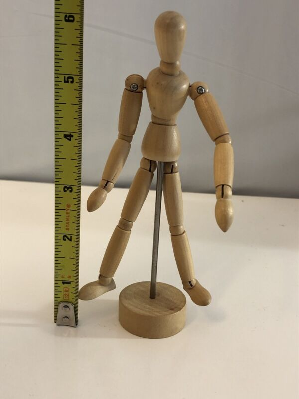 Jointed Wood Poseable Man Mannequin Artist
