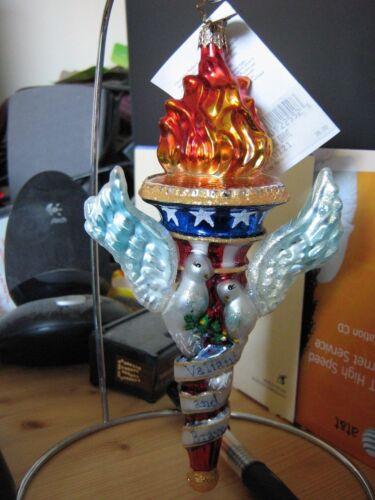 "Christopher Radko Ornament ""Valiant and Brave"" Commemorating 9/11"