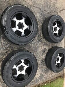 """18"""" rims and tires 6x139.7"""