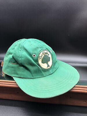 1950s Mens Hats | 50s Vintage Men's Hats Vintage 1950's  The Oaks  Golf Course Leather Strapback Hat Golf Hat US OPEN $23.99 AT vintagedancer.com