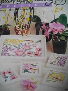 Kreuzstich USA - Sudberry House - Orchideen Stickmotive - NEU