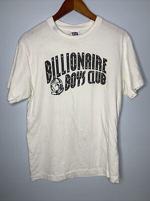 Billionaire Boys Club Shirt Mens Sz M White SS Pharrell Bape Classic Graphic Tee