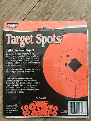 Target Spots By Birchwood casey. Self adhesive targets 6 INCH PACK OF 10 SHEET (Target Spots)