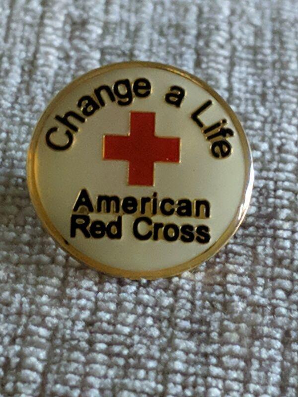 American Red Cross ARC Pin Change A Life Bin 8/23