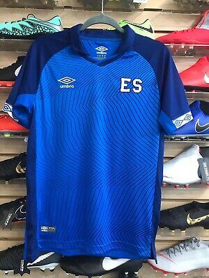 ddb53c7f5 Umbro El Salvador 2019 Soccer Jersey camisa De Futbol De El Salvador 2019  Size M