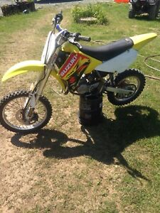 2002 rm 85 trade for race quad or 4 stroke dirt bike