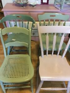 Mix and match chairs -