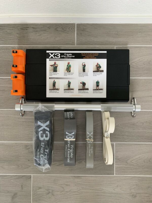 X3 Bar Elite 4 Bands, Base Plate, Bar, Lockable Shorteners Jaquish Biomedical
