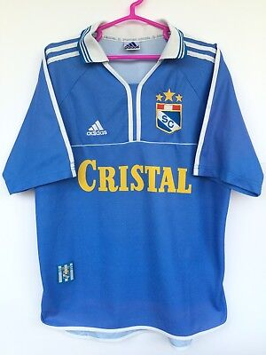 SPORTING CRISTAL 1998 99 2000 ADIDAS HOME FOOTBALL SOCCER SHIRT JERSEY CAMISETA  image
