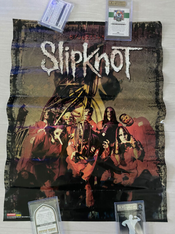 SLIPKNOT - 18x24 1999/2000 Self Titled Alternate Promo Poster Very Rare! Ozzfest