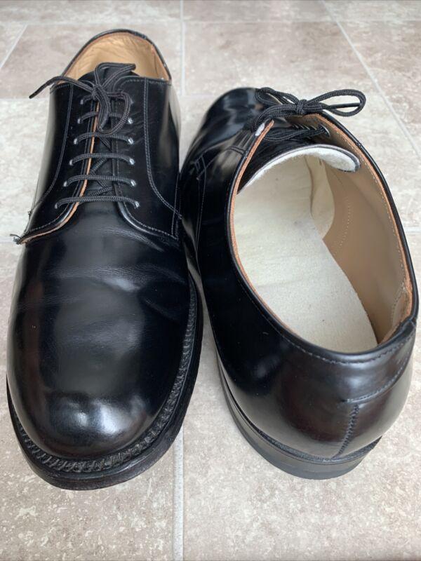 Vtg'69 D.J. Leavenworth 35305 Vietnam Era Military Dress Shoes Men's Size 9R USA